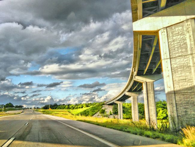 """My feeble attempt at being """"artistic"""" & photographing random whatnot lol Hdr Photography Hdr_Collection Hdr Collections HDR EyeEm Gallery My Point Of View Fresh On Eyeem  New On Market New On Eyeem Landscape EyeEm USA  July4th Road Trip Overpass Drivingshots Driving Views Highway Photography Highways And Byways USA Roads TRENDING  EyeEm Week Popular Showcase July Eyeem Trending Magazine Cover"""