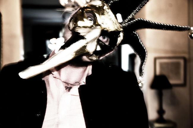 Scary. Close-up Clown EyeEm Best Shots Flower Focus On Foreground Fragility Halloween Halloween Horrors Halloween2016 Halloween_Collection Illuminated Jest Jester  Leisure Activity Lifestyles Mask Mask_collection Masked Masked Man Maskedportraits Maskerade Night Niklasskur Popular Photos Selective Focus