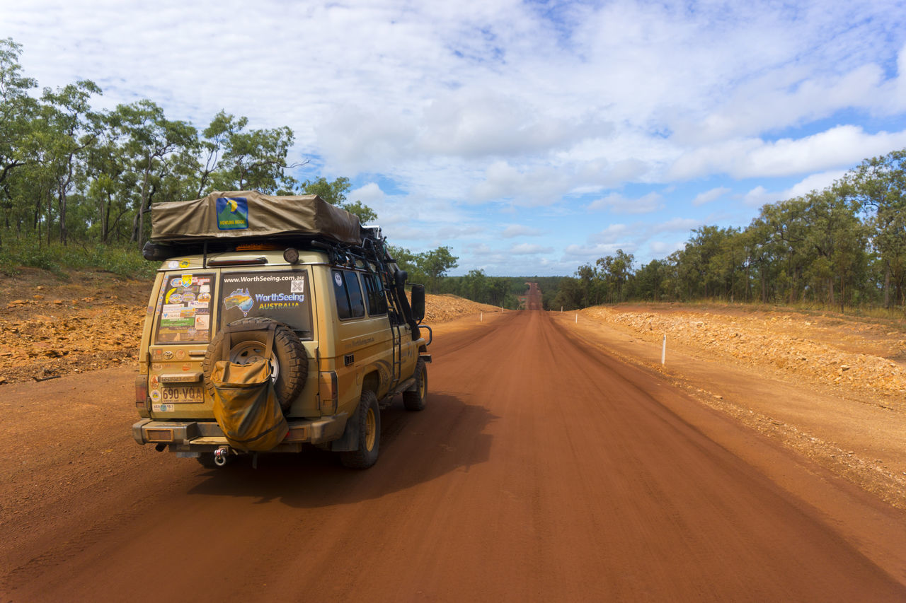 4wd Cape York Cloud - Sky Day Driving No People Off Road Outback Outdoors Road Transportation