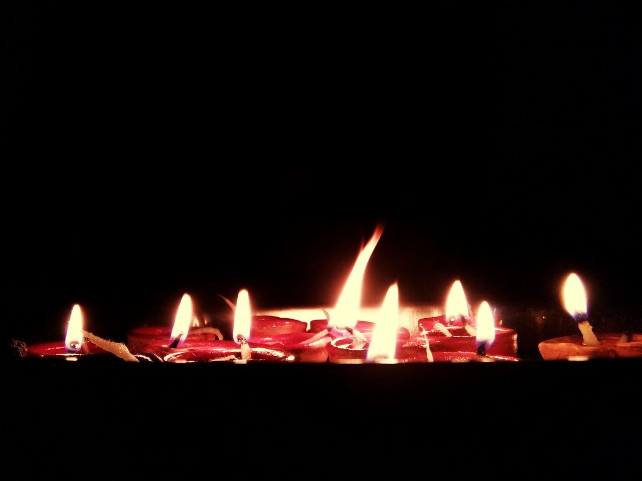 Red Burning Illuminated Night Flame No People Outdoors Black Background Dark Festive Lights Diwali🎆 Diwali Celebration Diwali2016 Diyas✨✨ DiyasForDiwali