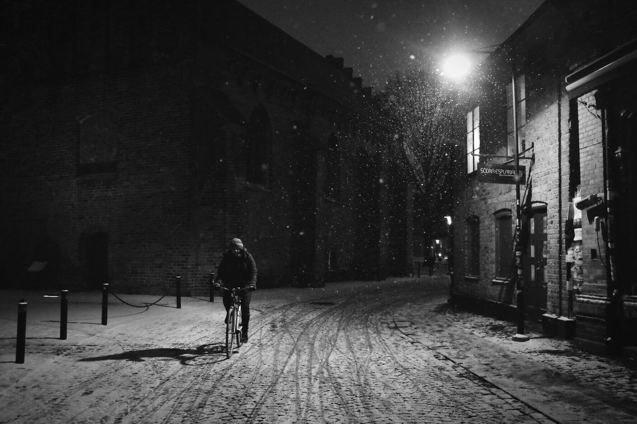 Winter Darkness And Light Black And White Monochrome Winter Bw_collection Shootermag Silhouette Street Photography Snow