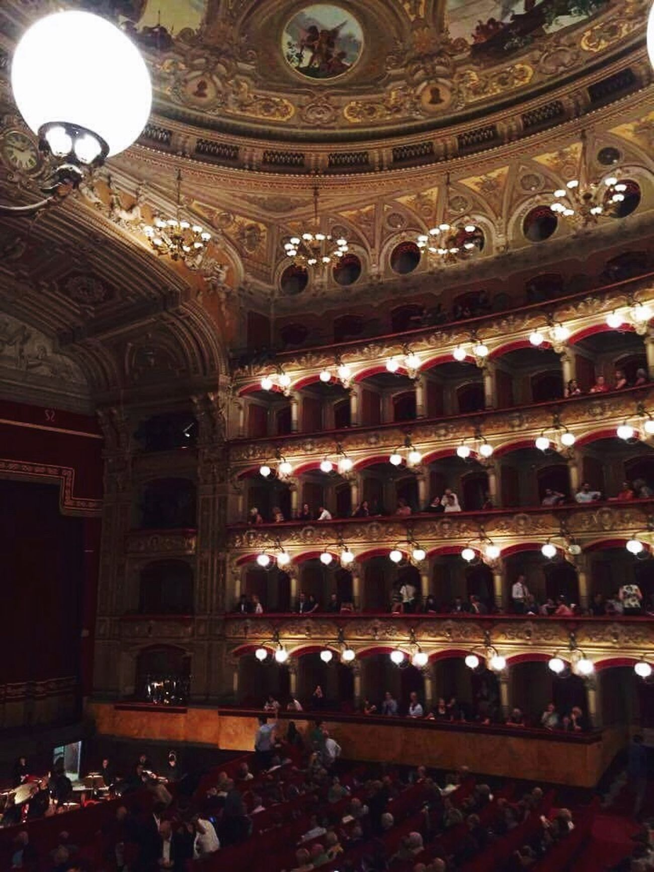 Indoors  Illuminated Arts Culture And Entertainment Baroque Style Operahouse Theatre Theatre Arts Theater Life Theatre & Music  Theaterlovers Opera And Ballet Theatre Mycity Catania, Sicily Vincenzo Bellini Orchestra Orchestra Concert  Orchestral Music Sinfony Eyeemmusiclover EyeEm Best Shots