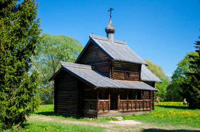 Architecture Built Structure Day Façade House No People Novgorod Plant Remote Tree