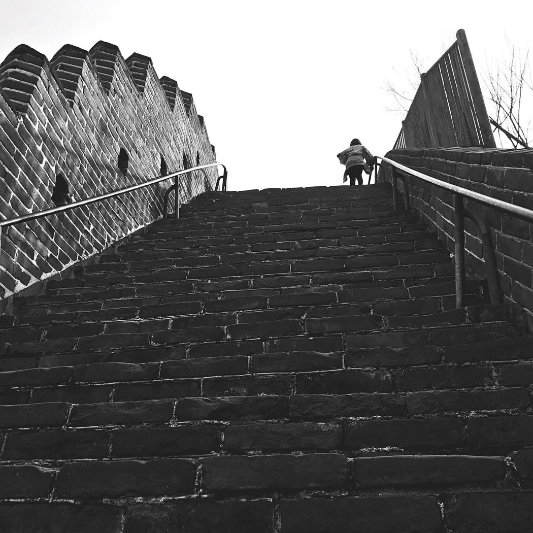 Built Structure Steps And Staircases Railing Steps Architecture The Way Forward Outdoors Staircase Architecture Historical Building Beijing Greatwall Badaling Greatwallofchina BEIJING北京CHINA中国BEAUTY BEIJING 北京 Great Wall Of China