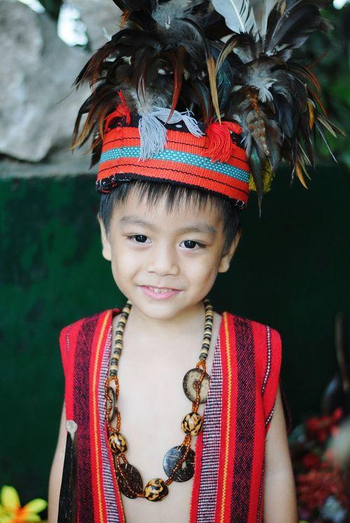 Igorot Costume Kid Roleplay Native Philippines Baguio Smile