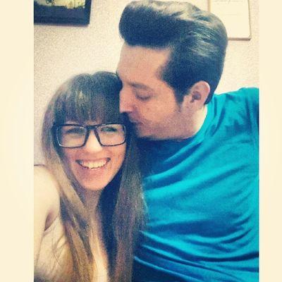 Причесались и заселфились ) Nicecouple Kiss Love Sunday hairstyle