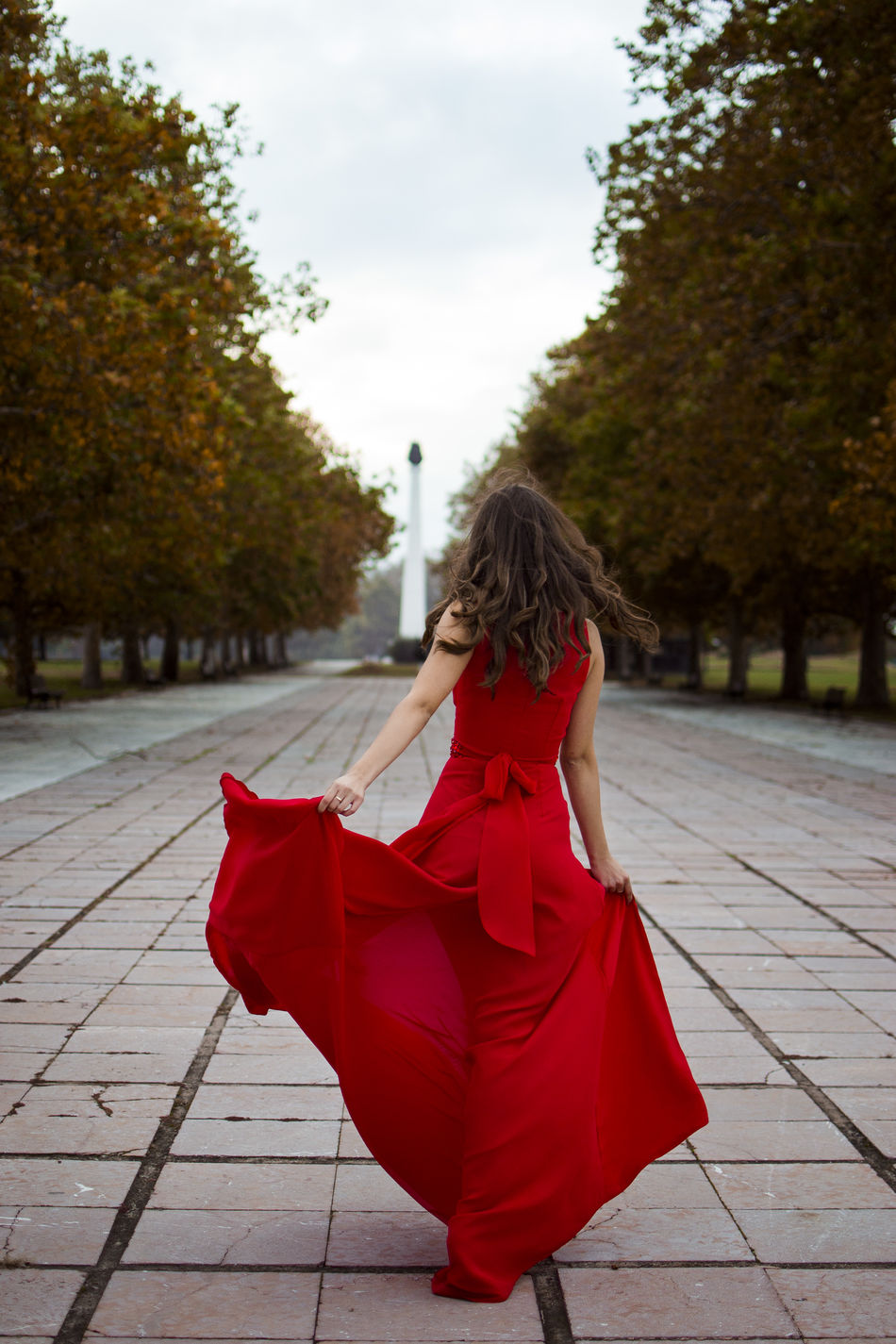 Girl in red dress Amazing Beautiful Beauty Best  Dress Fashion Girl Glamour Glamour Shots Model Outdoors People Red Red Dress Sky Street Travel Woman Woman Portrait Young Adult