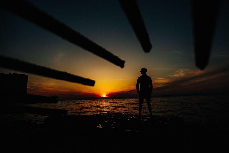 Закат ✨🌇 портрет мужскойпортрет владивосток лето Море Vinogradovphoto First Eyeem Photo