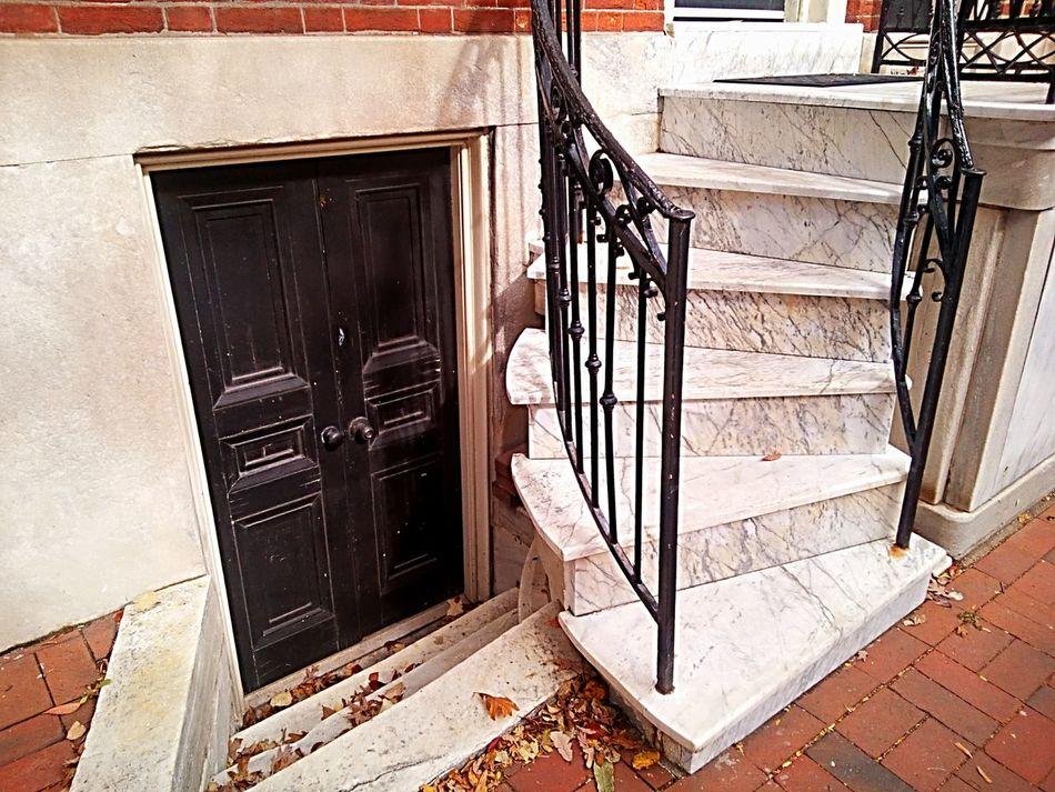 Door Doorway Stairs Marble Stairs Stone Steps Elegant Expensive Home