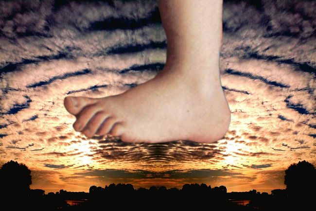 Funny Mood Creative Power Monty Python's Flying Circus Barefoot Steps In My World A Ladidali Production