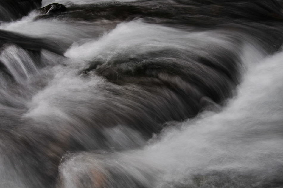mountain stream Beauty In Nature Current Long Exposure Mountain Stream Nature Outdoors Power In Nature River Spray Stream Torrent Water Welcome To Black