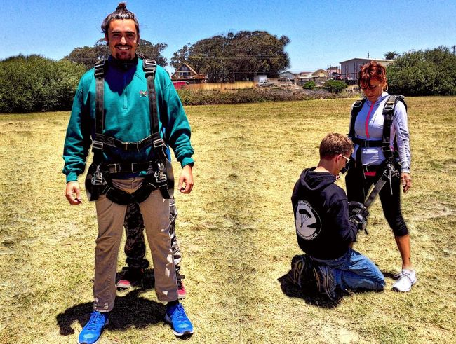 Preparing To Jump Sky Diving Check This Out Brother And Mother Notes From The Underground X😨w😦x