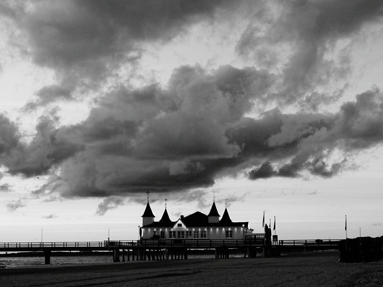 Ahlbeck Ostseeküste Seebrücke Urlaub Water Beach