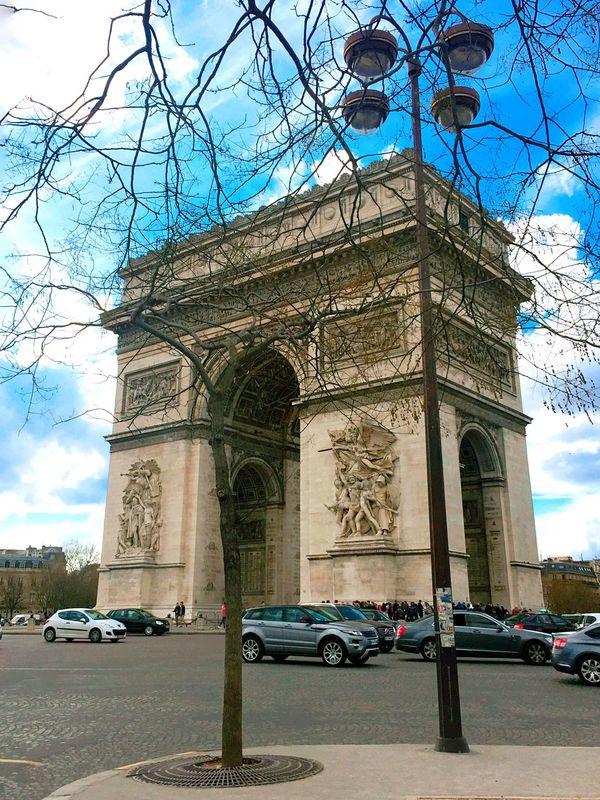 Arc De Triomphe De L'Étoile Frence Paris Paris ❤ Taiwanese Shopping Time History Feel The Journey