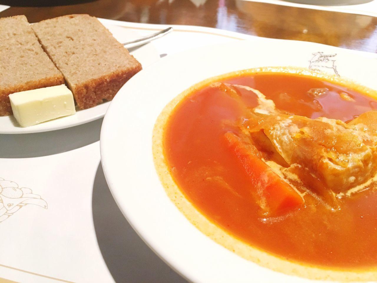 ボルシチatツンドラ〜 Ready-to-eat Soup Close-up Bowl Lunch Lunch Time! Borscht Russian Russianfood Tenjin Food Eyeemfood