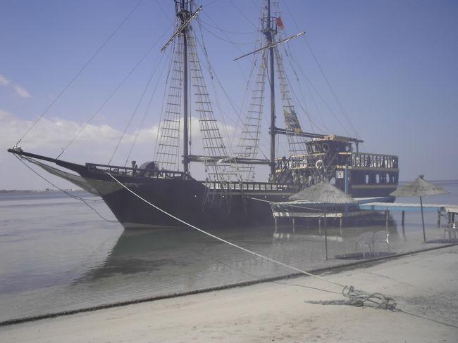 Djerba  Mast Mode Of Transport Nautical Vessel Outdoors Sea Ship Sky Transportation Tunesia Tunesien Water