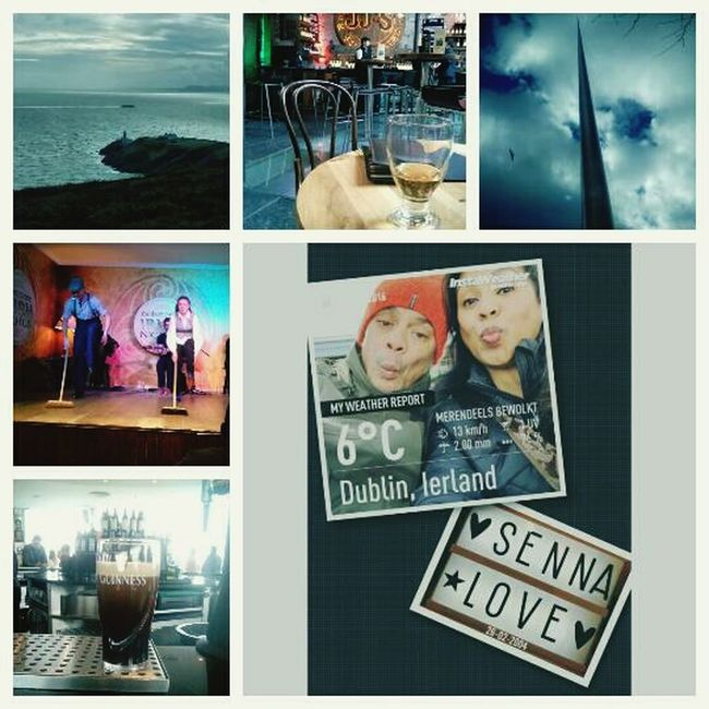 Hello World MyWife❤️ Lovers And Friends Traveling Enjoying Life Dublin, Ireland JohnJameson Guinnessstorehouse Wiskey Irish