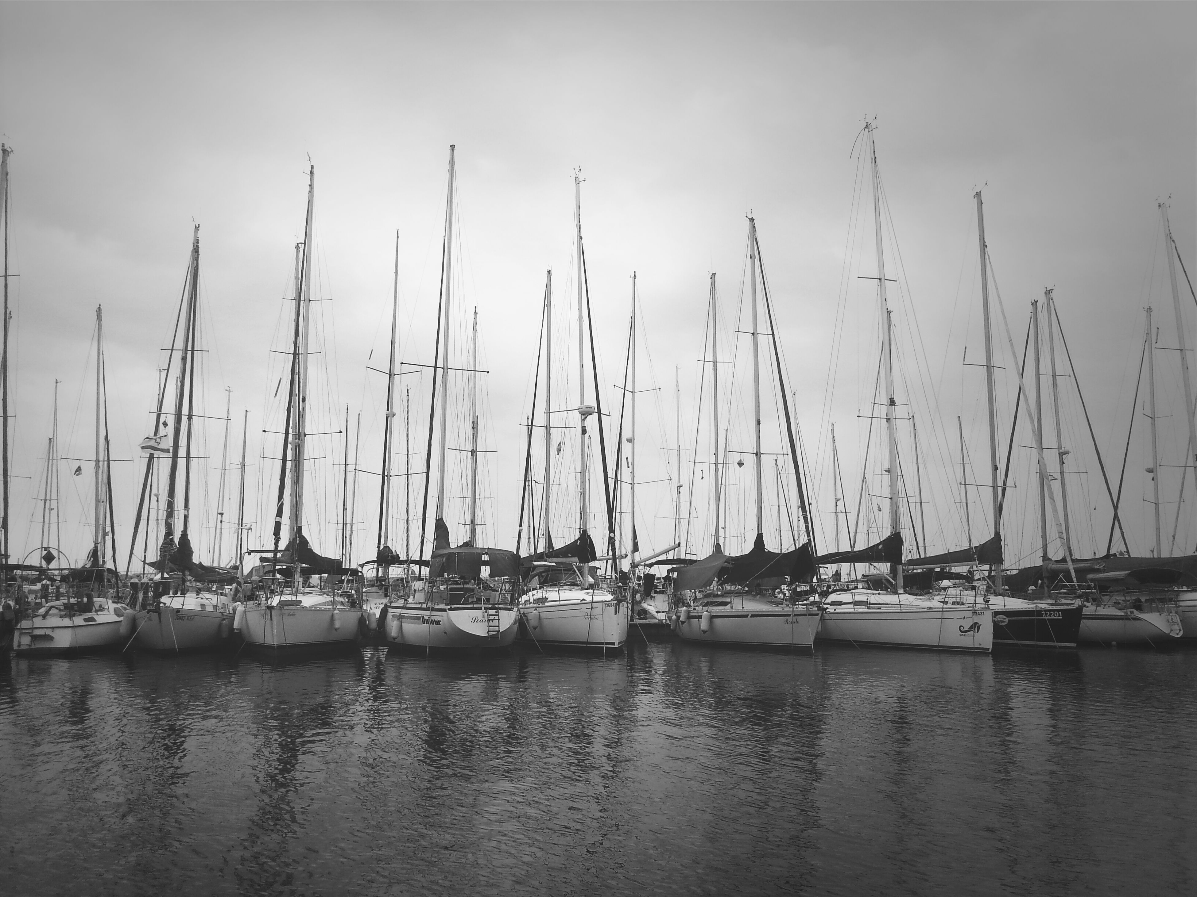nautical vessel, water, transportation, boat, moored, mode of transport, mast, sailboat, waterfront, harbor, sea, sky, reflection, lake, nature, tranquility, outdoors, tranquil scene, travel, day