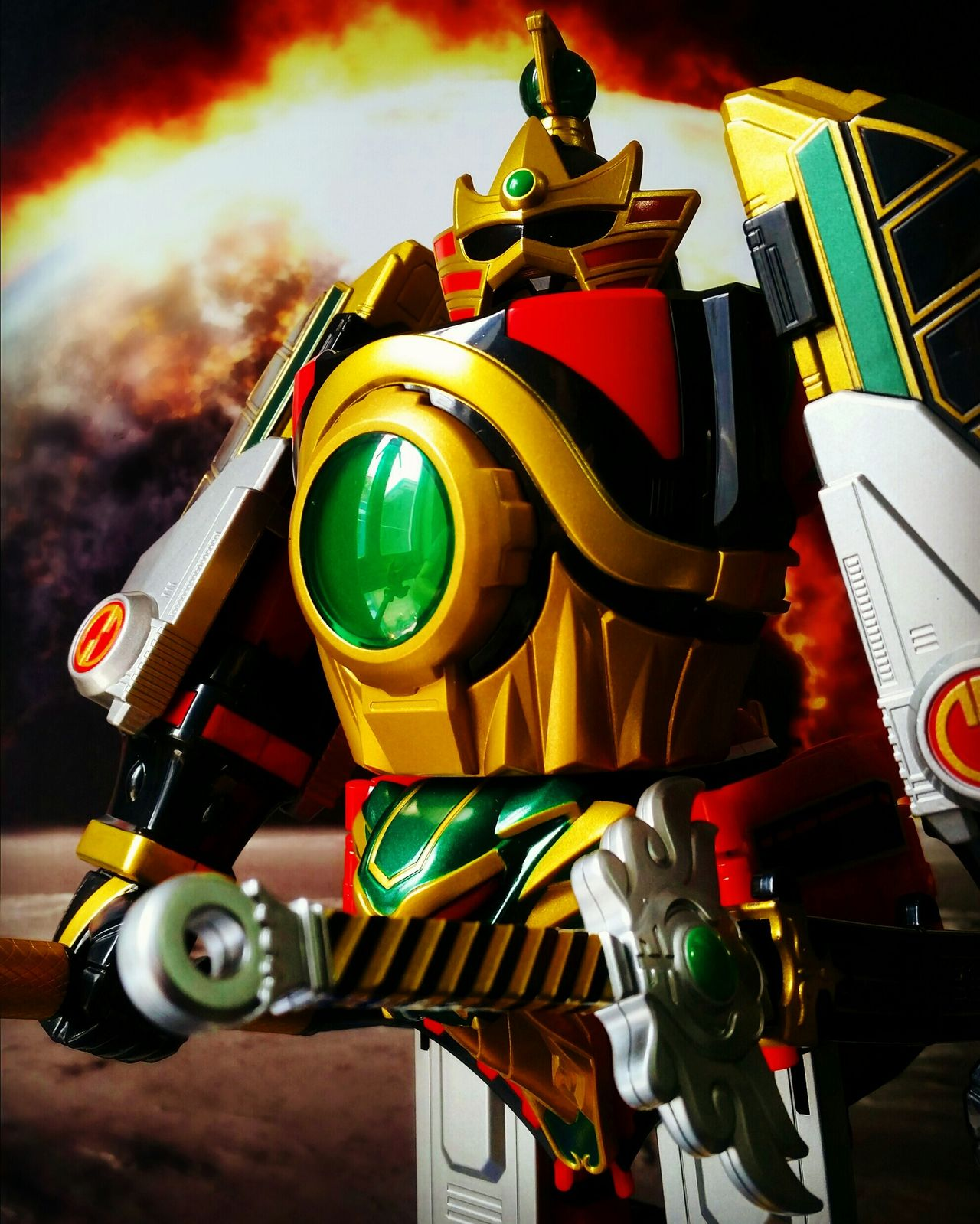 Thunder Megazord Power Rangers Thunder Megazord MegaZord Toys Toy Photography