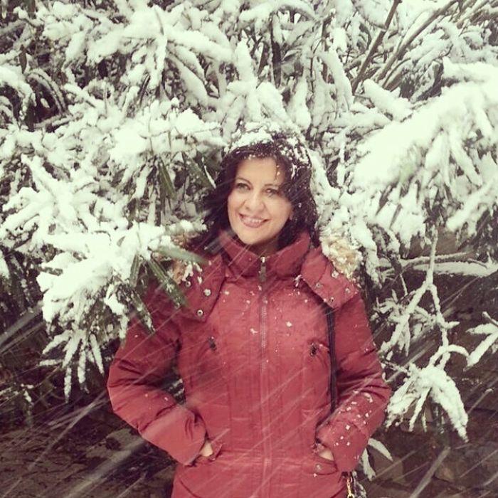 Snow❄⛄ Snowing Karlı Güne Merhaba :)) A Snowy Day Bendenbirkare