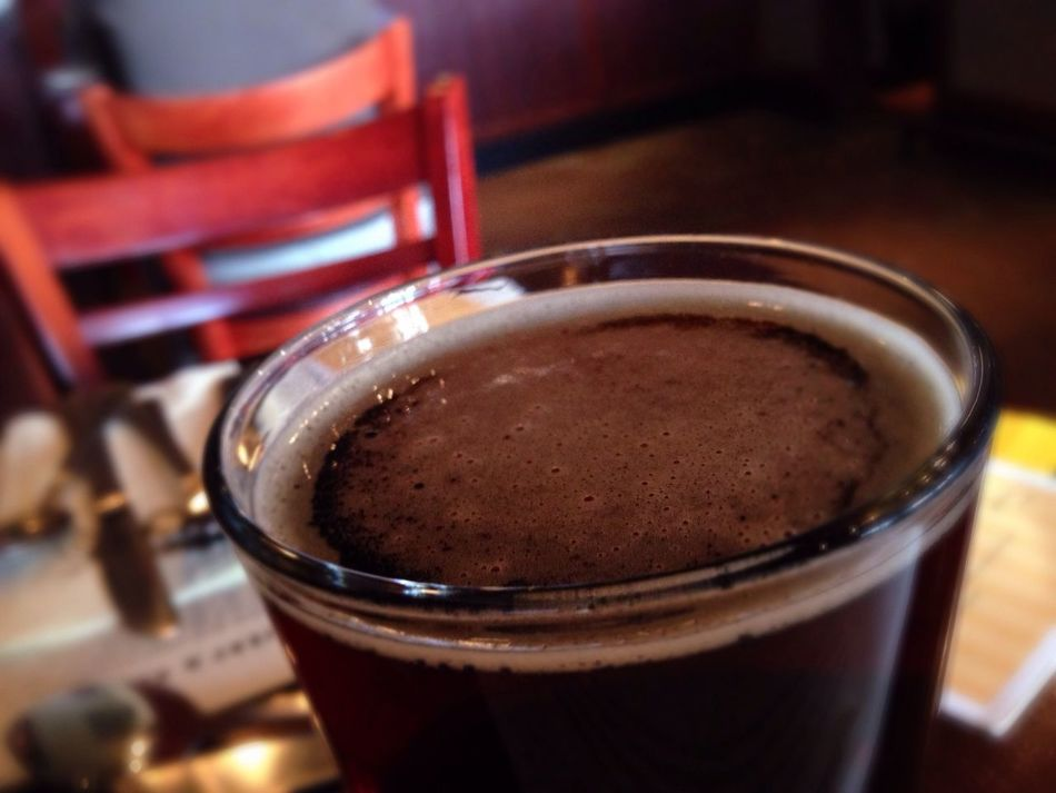 Nut Brown Ale at Iron Hill Beer