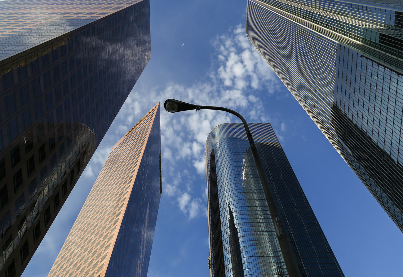 Sky Walls - Architecture Building Building Exterior Built Structure Capital Cities  City Cloud - Sky Financial District  Low Angle View Modern Office Building Reflection Sky Skyscraper Tall - High Tower Urban Skyline