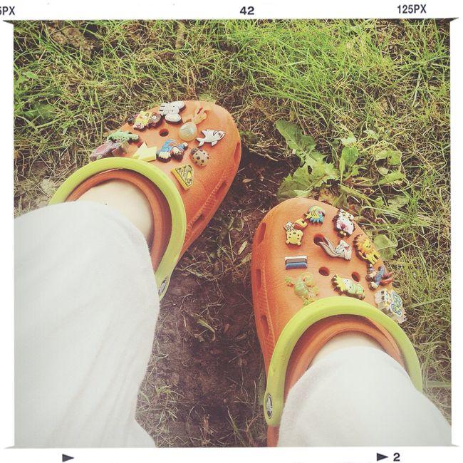 Floortraits Crocs