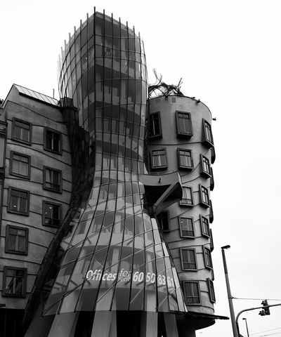 Prag - Dancing House Architecture Travel Enjoying The View Blackandwhite The Architect - 2016 EyeEm Awards