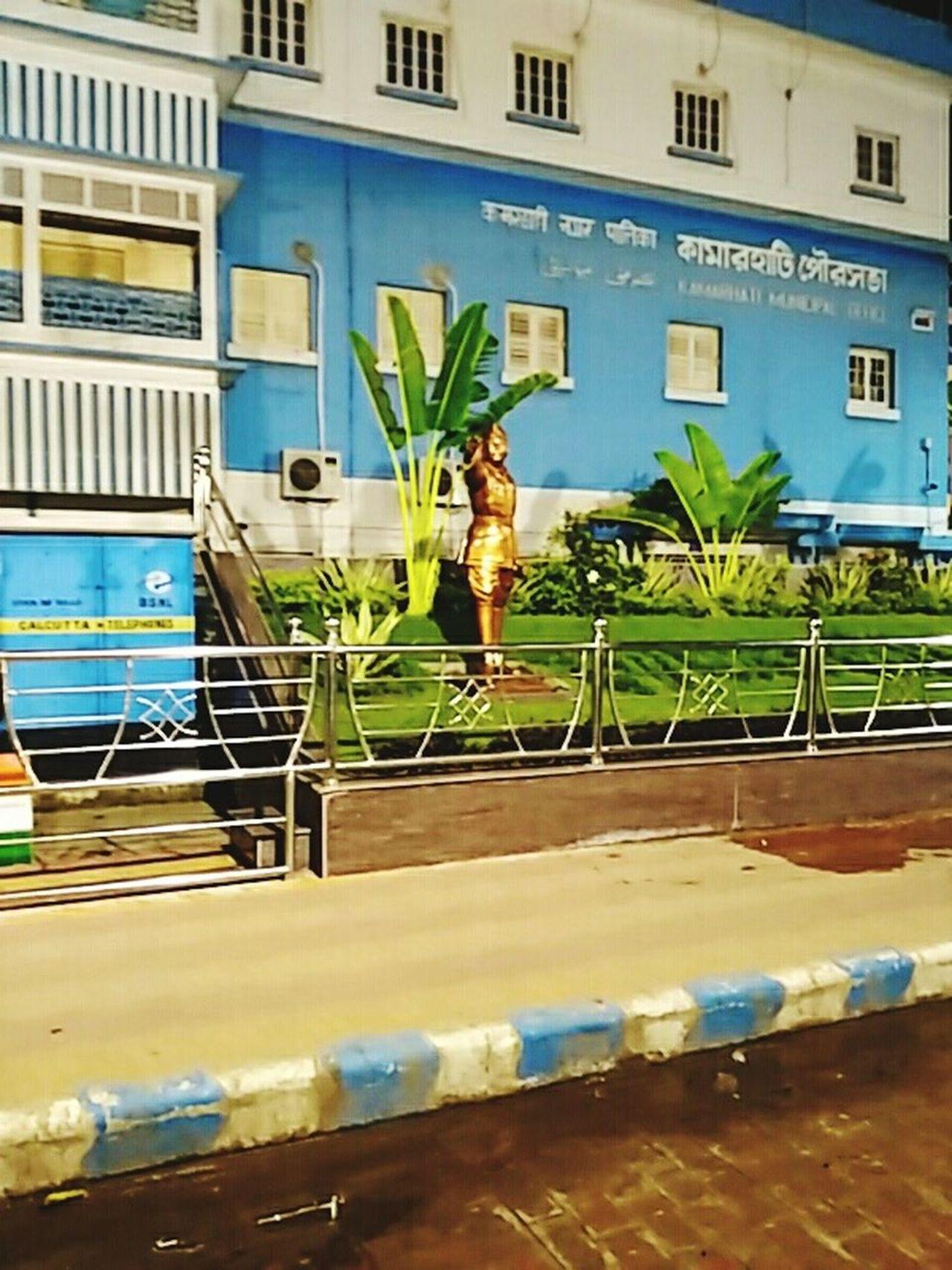 Out Side Decoration Of A Municipality
