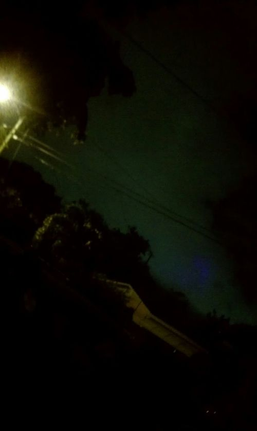 UFO Night Dark No People Outdoors Ufocapture Chase Just Being Me Artphotography Artistic Expression Photography Themes Cloud - Sky