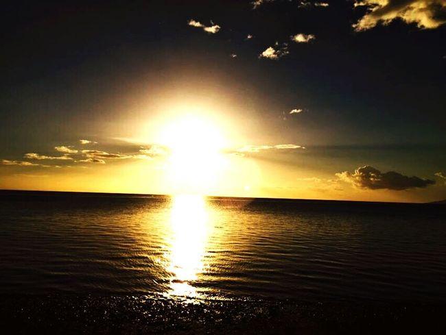 Sunset Nature Nostalgia Tahiti French Polynesia
