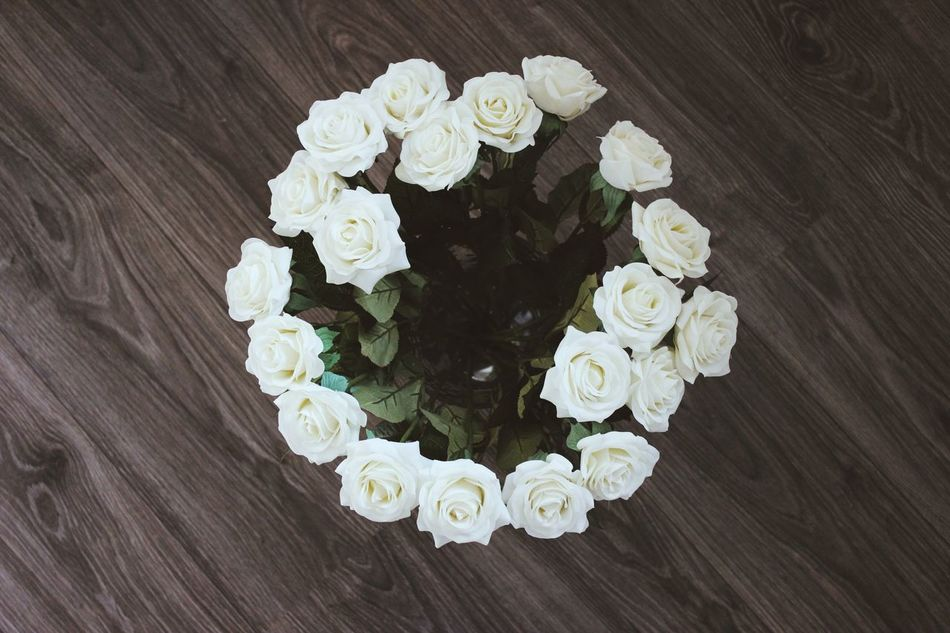 Beautiful stock photos of white, Bouquet, Bunch Of Flowers, Day, Directly Above