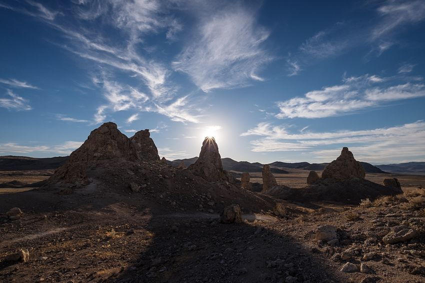 Queue the soundtrack for Planet of the Apes. California Trona Pinnacles Desert MajoveDesert Throwback