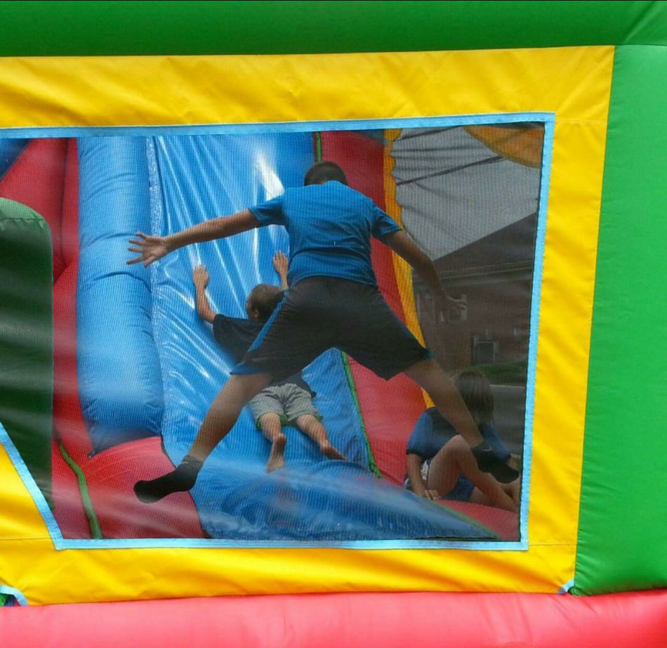 Jump Jumping Children Children Playing Bounce! Bounce House Bouncy Castle Bouncyhouse Childhood Childhood Memories Colors Of Carnival Ohio, USA