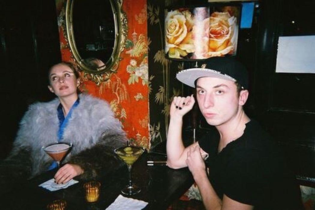 Friends Martinis l New York City Disposablecamera