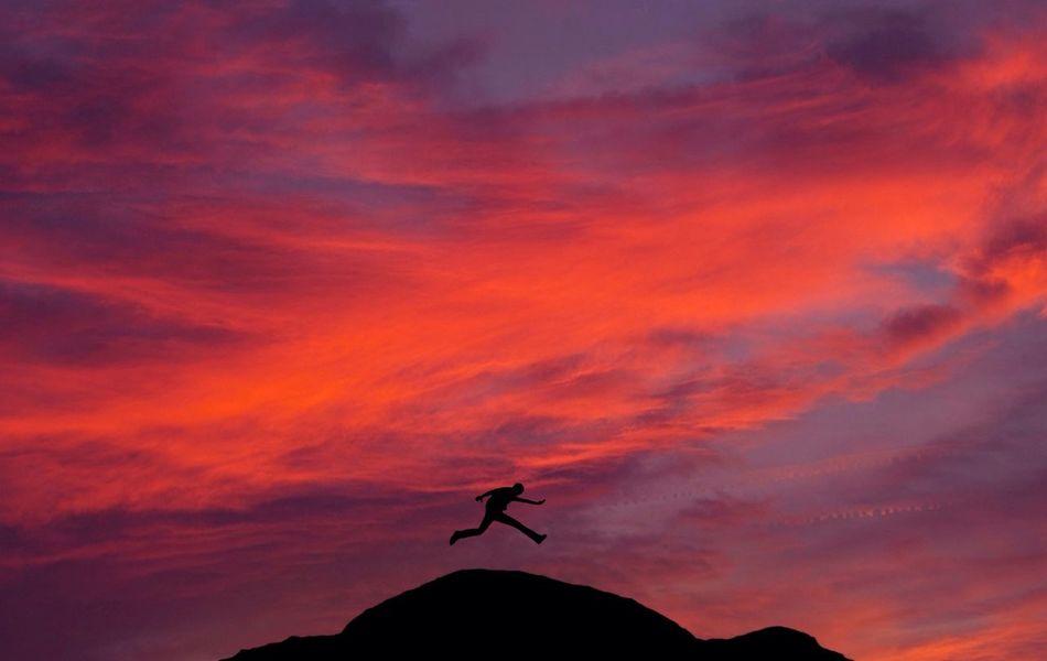 Beautiful stock photos of silhouette, Adventure, Cloud, Dusk, Hiking