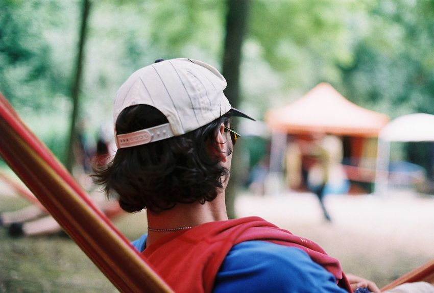 Lounging at Noisily music festival Nikkormat FS (1965) Filmcamera The Purist (no Edit, No Filter) Taking Photos Filmisnotdead Untold Stories Tadaa Community In The Forest Live Music Music Festival