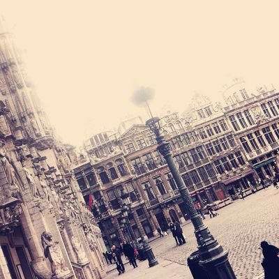 Grand Place in Brussels by ❀ⓉⓘⓀⓚⓨ❀