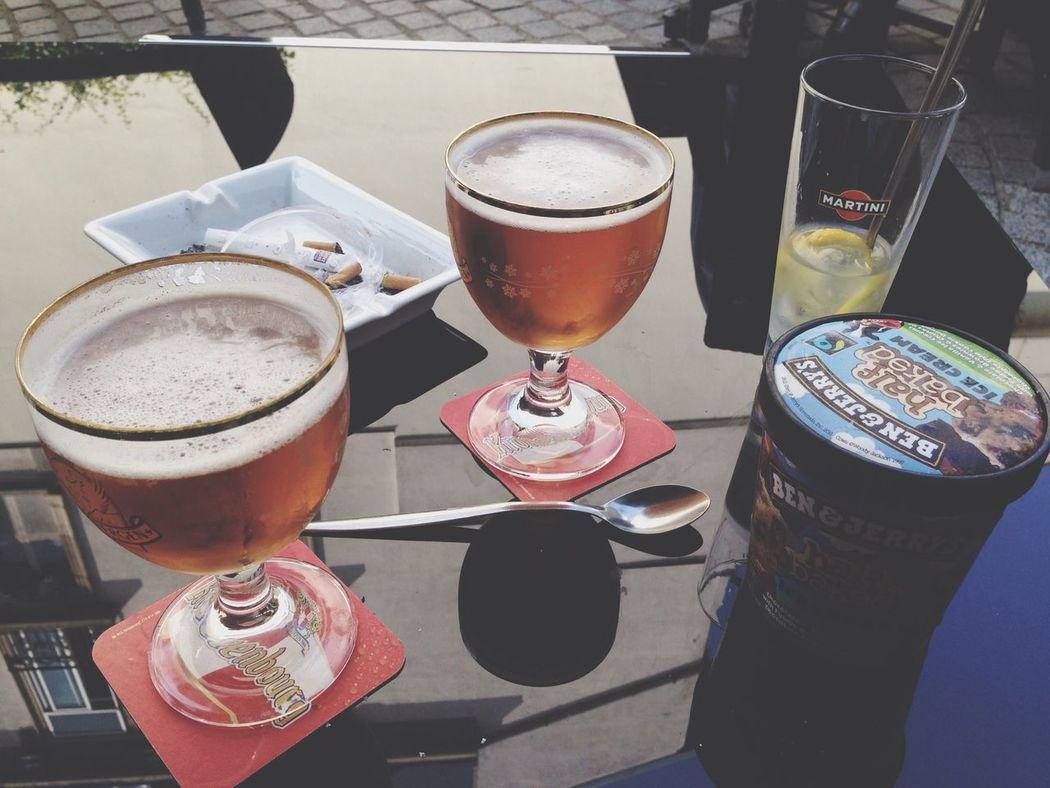 C'est ce qu'on veut Beer Martinis Ben&Jerry's Perfect