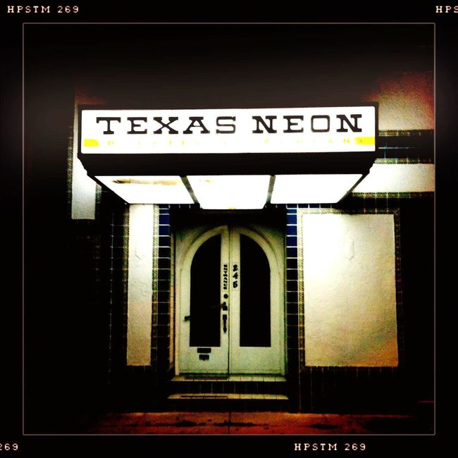 Texas Neon All The Neon Lights