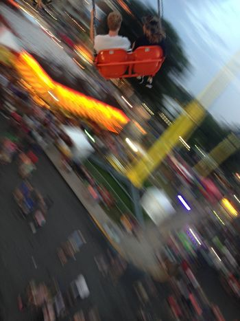 Blurred Motion Speed Motion Long Exposure City City Life Urgency People Architecture Outdoors Built Structure Illuminated Night Building Exterior One Person Adult Sky Supermarket