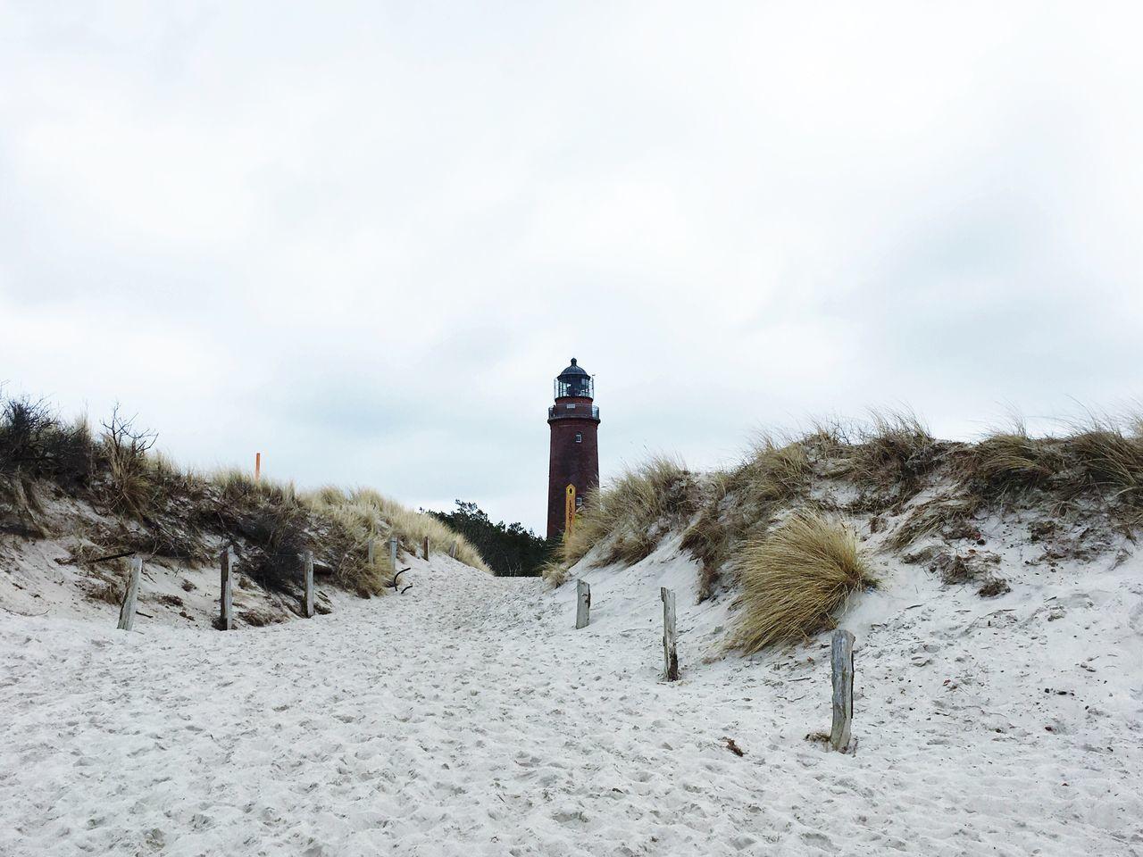 Lighthouse Lighthouseview Ostdee Prerow
