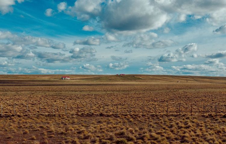 Landscape Field Agriculture Sky Cloud - Sky Tranquility Rural Scene Plough Tranquil Scene Beauty In Nature Nature Scenics Day No People Outdoors Tierra Del Fuego Argentina Wanderlust Nature Wide Angle Exploring Landscape_Collection