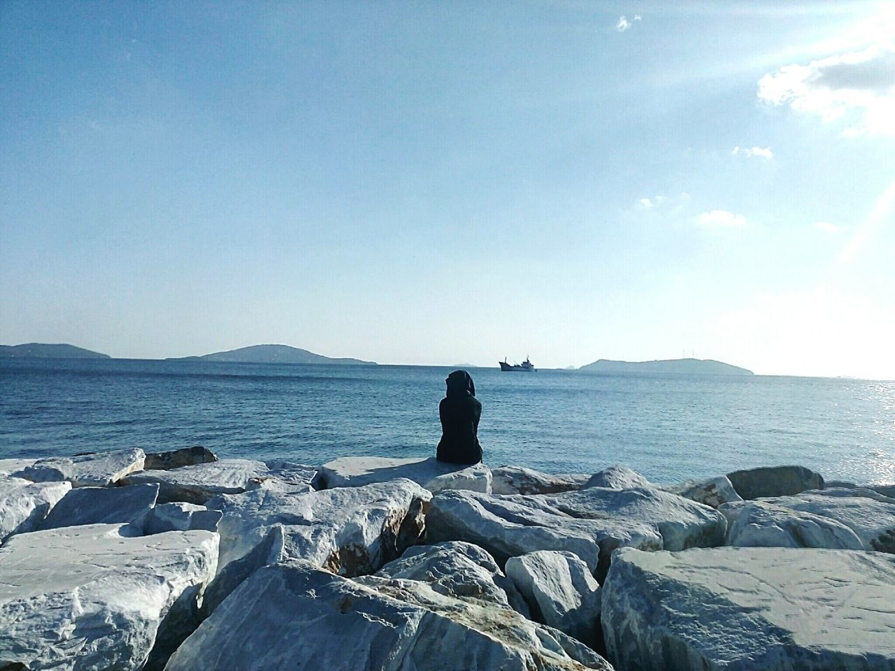 View is beautiful, so is she. 💕 Relaxing Check This Out Enjoying Life Hanging Out Sky And Sea Turkey Istanbul Turkey Sea And Sky Hidden Gems  ıstanbul Sea Sea View Seaside Clouds And Sky Sky New Talent New Talent This Week Eyeemphoto My Year My View waiting game Sommergefühle EyeEm Selects