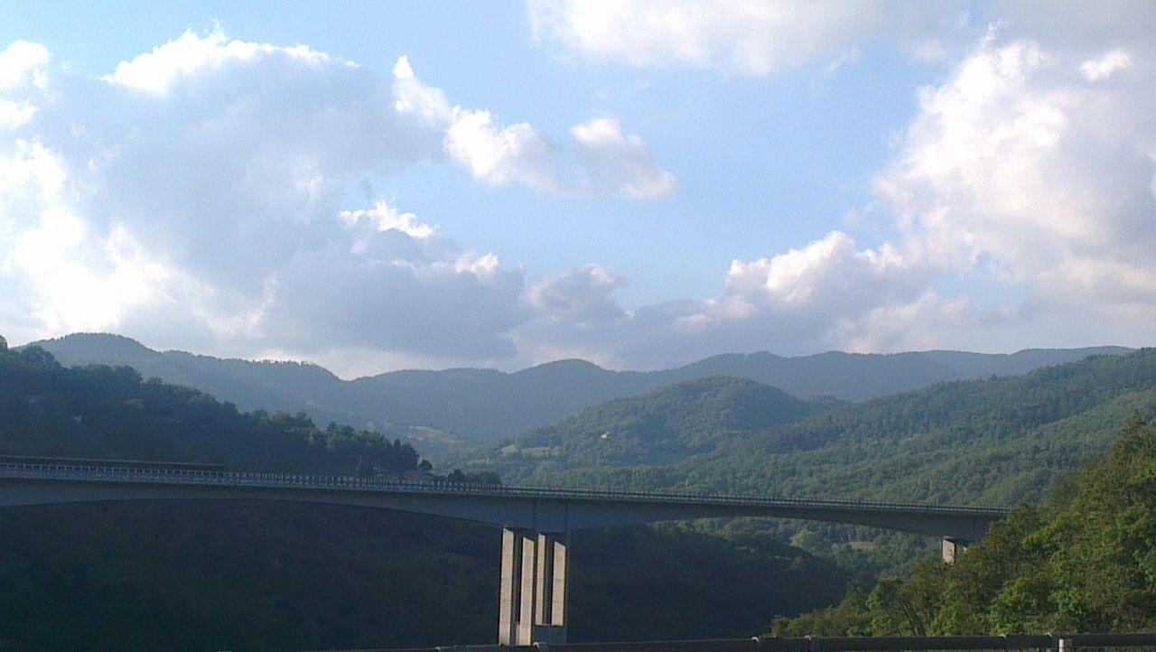 Un ponte... see tu credi che non abbia senso, ma prova ad attraversare senza! On The Road Born To Be Wild Bridge View Landscape