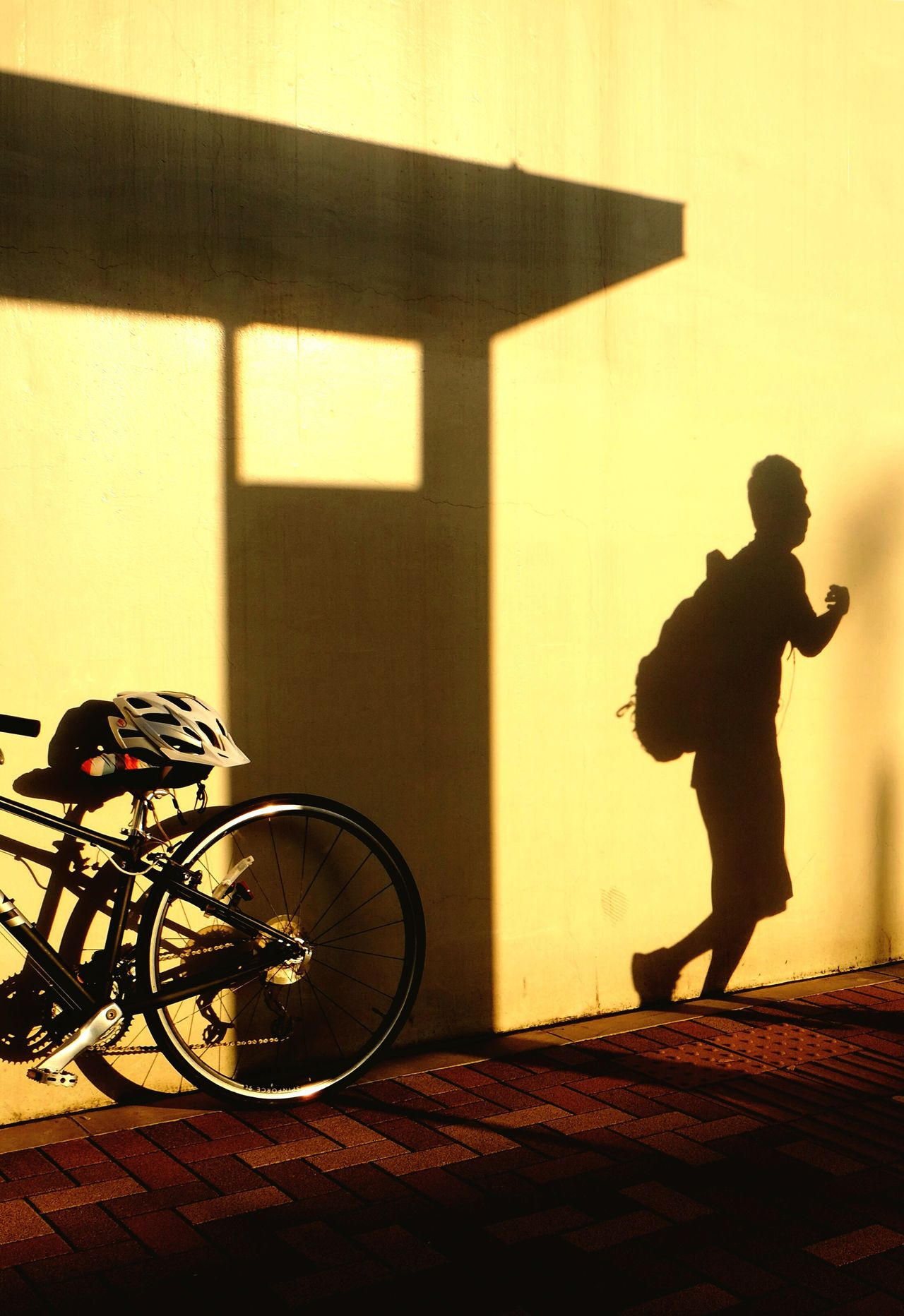 Shadow play Sunlight Shadow Running Running Late Runner Bicycle Runners Running Time Shadows & Lights Shadows Shadowplay Shadow And Light Sunlight