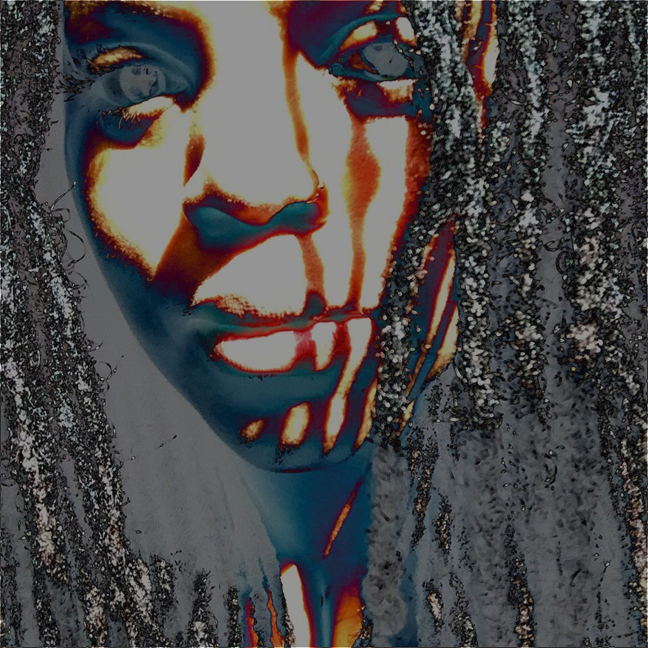That's Me Artistic Expression Self Expression Enjoying Life Making Jewelry Lioness Bohemian Empress Lips Locs Beauty Let Your Hair Down Crazy Edit!