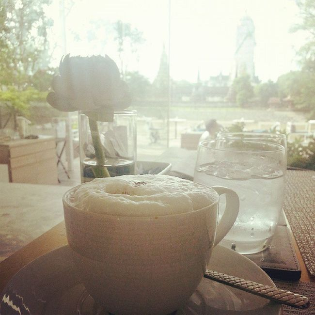 Coffee Morning Wat Phutthaisawan Awesomegetaway Thailand Linecamera