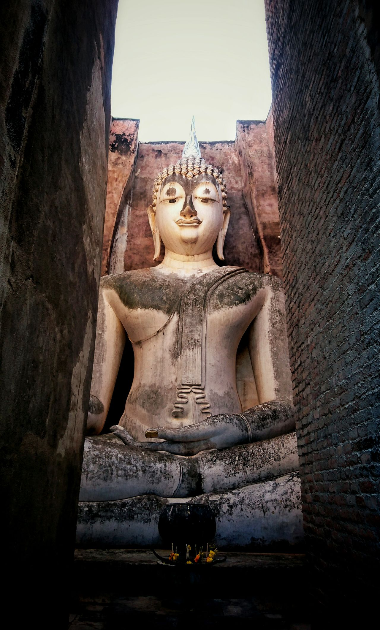 Sukothai Thailand Watsrichoom Buddha Old Town
