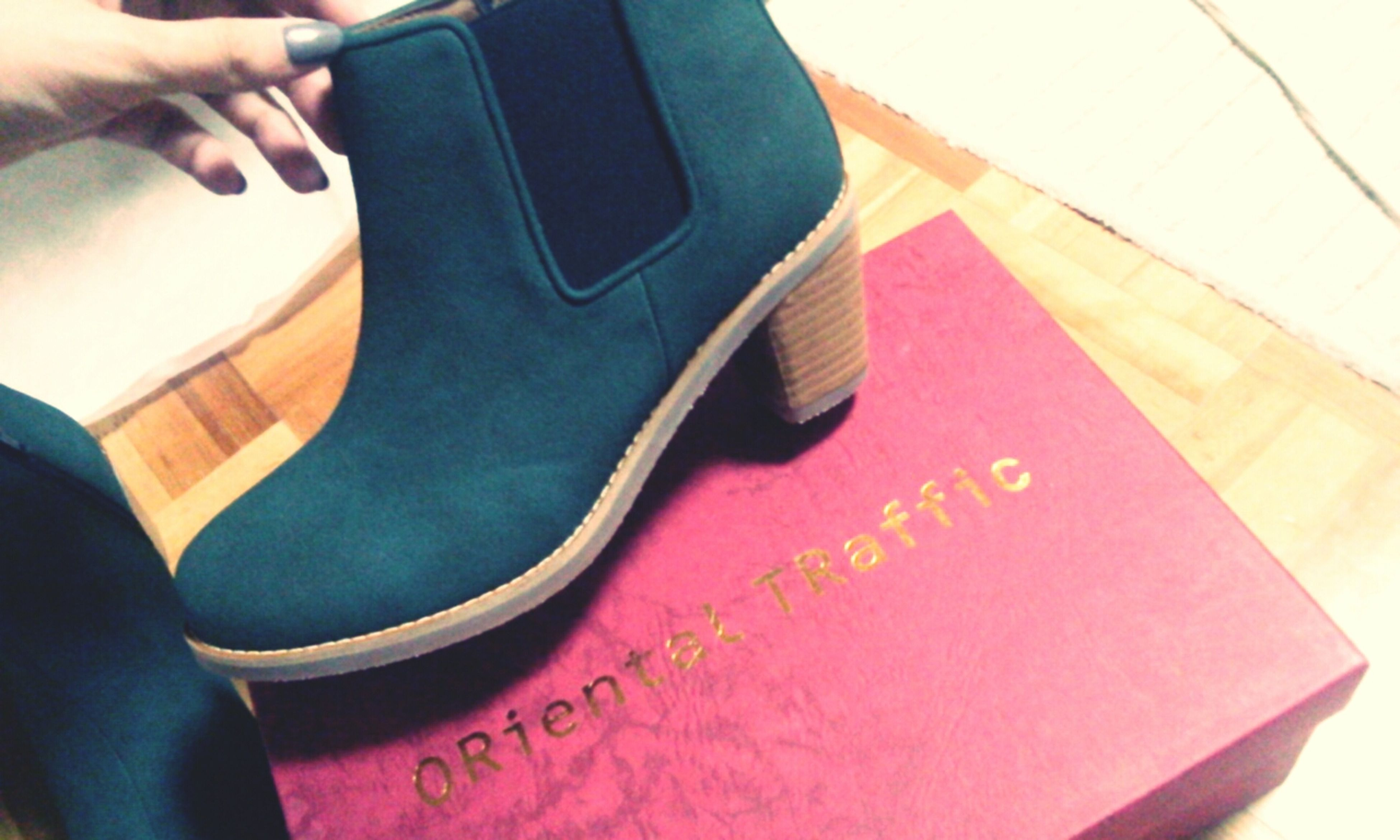 ma new goaboots!Orientaltraffic Boots New Fashion